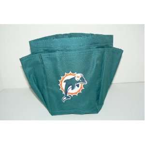 Miami Dolphins Shower Tote Caddy