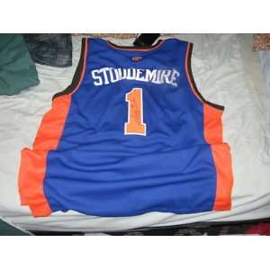 Amare Stoudemire New York Knicks SIGNED Jersey COA 50