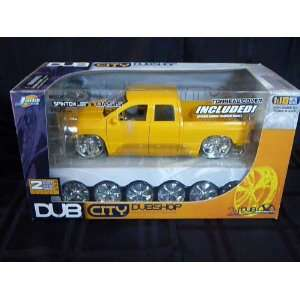 Dub City Dub Shop 2003 Dodge Ram Die Cast Model Kit Toys