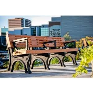 Polly Products Elite Commercial Grade Park Bench Patio, Lawn & Garden