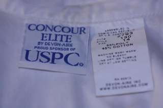 16 NEW Concour Elite Devon Aire Kids Short Sleeve White Riding Show