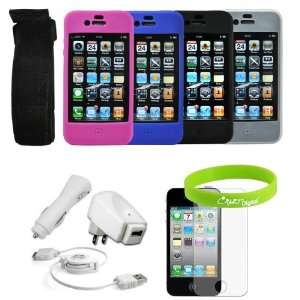 Combo Pack for New Apple iPhone 4 4G HD 16GB 32GB Wireless Cell Phone