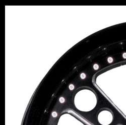 Custom Motorcycle Wheel Set, Style 27 Polished