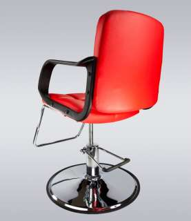 Fashion Classic Hydraulic PVC Barber Chair Hair Styling Salon Beauty