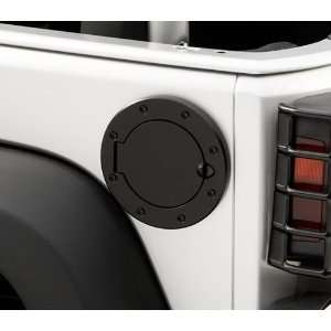 Rugged Ridge OMX11134.03 Jeep Wrangler Stainless Steel Fuel Door   TJ