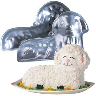 Wilton Easter Stand Up 3D Lamb Cake Pan Set Baking Mold 70896210104