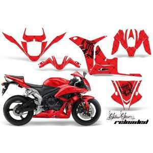 Silver Star AMR Racing Honda CBR 600rr Sport Bike Graphic