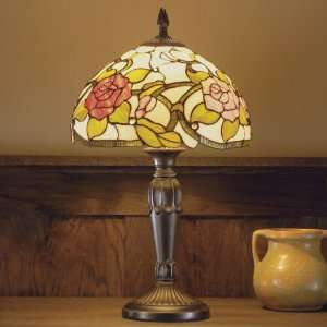 Dale Tiffany Floral Jewel Table Lamp