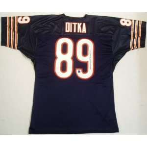 Mike Ditka Autographed Jersey