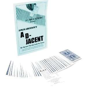 Ad Jacent Card Magic Trick Toys & Games