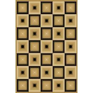 Central Oriental   Dimensions   Squares Area Rug   710 x