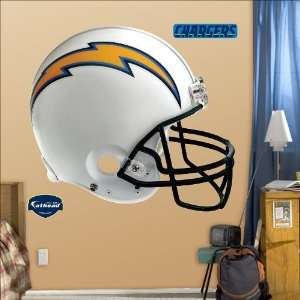 San Diego Chargers Helmet Fathead Toys & Games