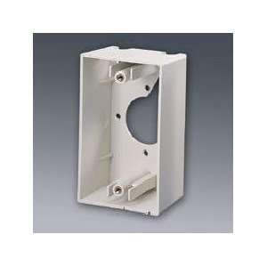 Single Gang Wall Box Ivory