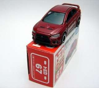 No.67 Mitsubishi Lancer Evolution Evo X 10 161 Diecast Car