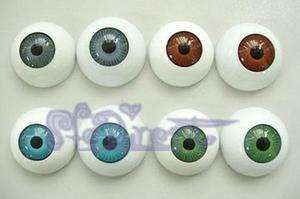 24PC Plastic Fake Eyes Eyeballs Mask Doll Bear Toy Make