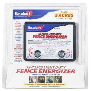 ELECTRIC FENCE ENERGIZER FI SHOCK SS 725CS AC POWERED