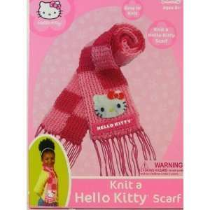 Sanrio Knit A Scarf Tool Handicraft Set   Hello Kitty