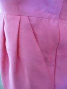 Kate Spade JANA V NECK DRESS PINK SILK BLEND SZ 6 $425 NWT