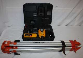CST Berger Lasermark LM30 Rotary Laser Leveling System + LD100M