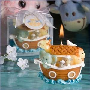 Noahs Ark Design Baby Shower Candle Favors Baby