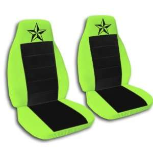 1991 Ford Mustang GT seat covers. One front set of seat covers. Lime