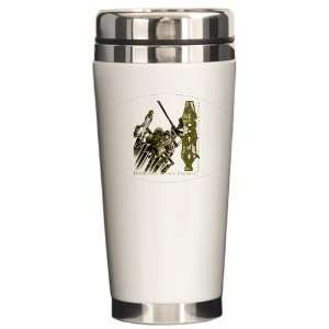 Drink Mug Army US Military Defenders Of Our Freedom