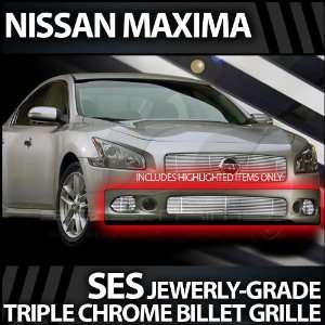 2009 2011 Nissan Maxima SES Chrome Billet Grille (bottom