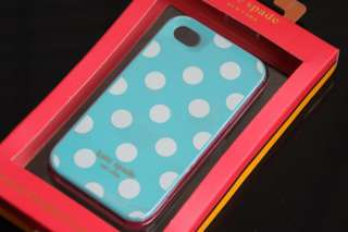 Brand New Kate Spade Hard Polka Dot Case Cover For Apple iPhone 4 4G