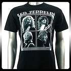 Led Zeppelin Hard Metal Rock Punk Band T shirt Sz M