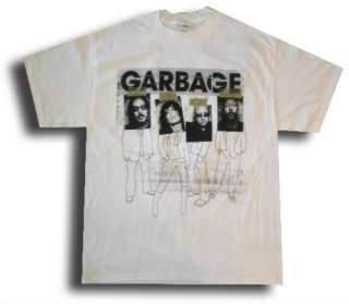 New XL White 2005 Concert Bleed Like Me (rock,band) Tour T SHIRT/TEE