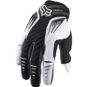 Fox Racing Platinum Mens MotoX Motorcycle Gloves   Black
