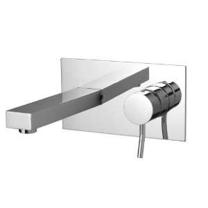 Aquabrass 28029PC Polished Chrome Hey Joe Single Handle Wall Mounted