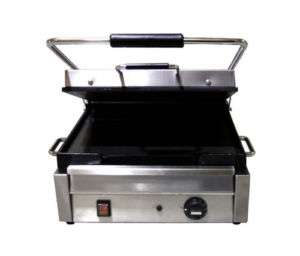 Stainless 15in Commercial Electric Sandwich Grill NEW