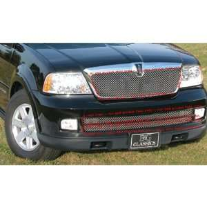 LINCOLN NAVIGATOR 2005 2006 HEAVY MESH KIT CHROME GRILLE