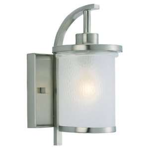 Sea Gull Eternity Outdoor Wall Light   12H in. Brushed