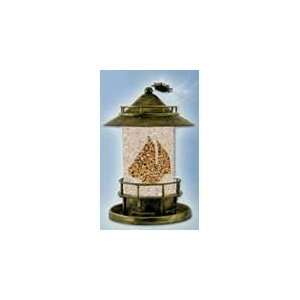 New Perky Pet Wb Marque Feeder Constructed W/ Worn Brass