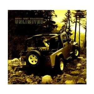2004 JEEP WRANGLER UNLIMITED Sales Brochure Literature
