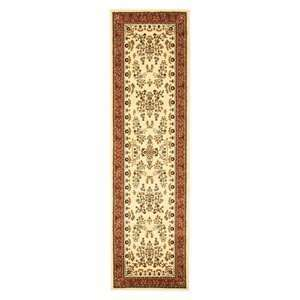 Safavieh Lyndhurst Collection LNH331R Ivory and Rust Area
