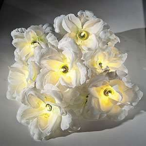 White Roses String Lights