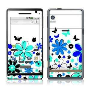 Josies Garden Design Protective Skin Decal Sticker for Motorola Droid