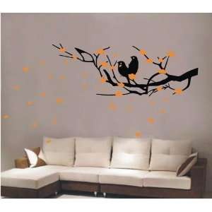 Large  easy Instant Decoration Wall Sticker Deco birds
