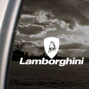 Lamborghini Decal Logo Bull Car Truck Window Sticker