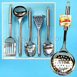 NEW 6PC Stainless steel Cooking Utensils Kitchen Tool Set