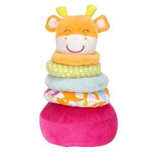 Carters Stackable Plush Baby Toy   Giraffe Toys & Games