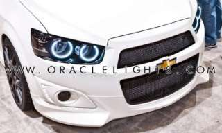 ORACLE Headlight HALO Kit 6K HID White LED/SMD Halos DRL Rings