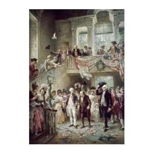 Leon Gerome Ferris   Constitutional Convention Giclee