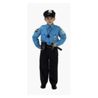 Jr Police Officer Suit Child Costume Size 12 14 Toys