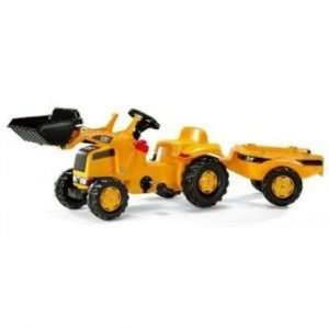 Kettler CAT Kid Tractor w/ Trailer Toys & Games