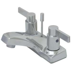 Lavatory Faucet with Brass Pop Up, Oil Rubbed Bronze
