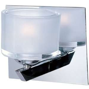 Vortex Collection 1 Light 6 Polished Chrome Wall Sconce